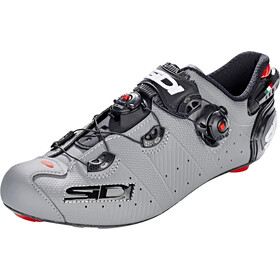 Sidi Wire 2 Carbon Shoes Herre matt grey/black